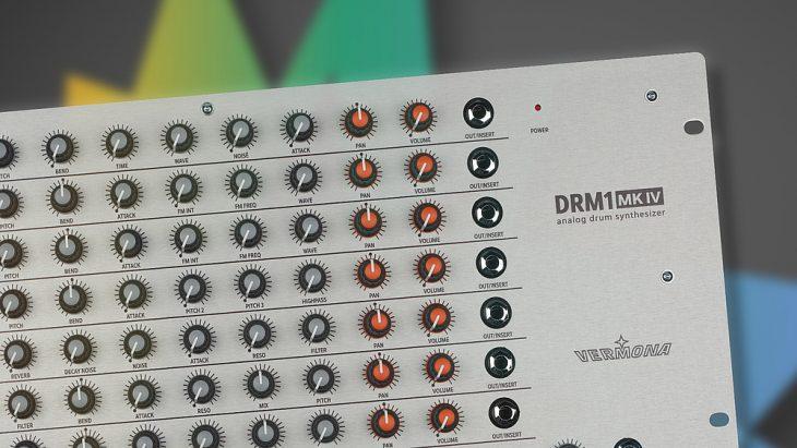 vermona drm1 mkiv analog drum synthesizer
