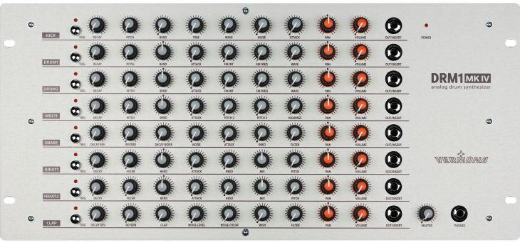 vermona drm1mkiv drum synthesizer analog big