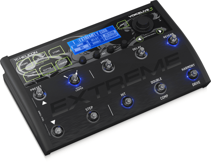TC-Helicon VoiceLive 3 Extreme Test