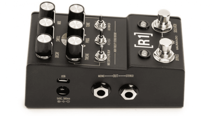 Test: Walrus Audio R1, Hallpedal für E-Gitarre