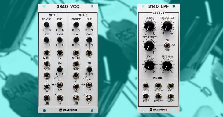 wavefonix 3340 vco 2140 lpf eurorack