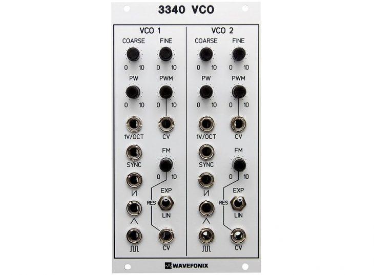 wavefonix 3340 vco eurorack