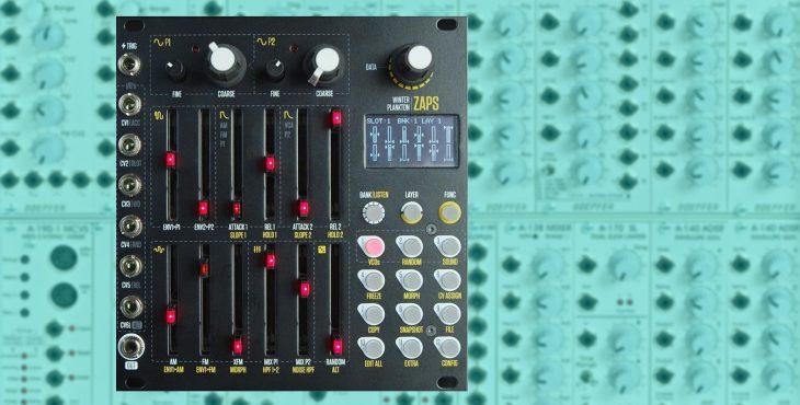 winter plankton zaps eurorack percussion module