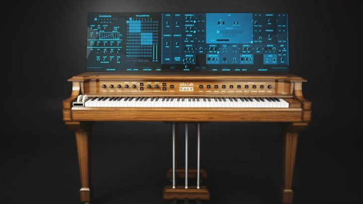 xils lab kaox fm-synthesizer plug-in yamaha gs1