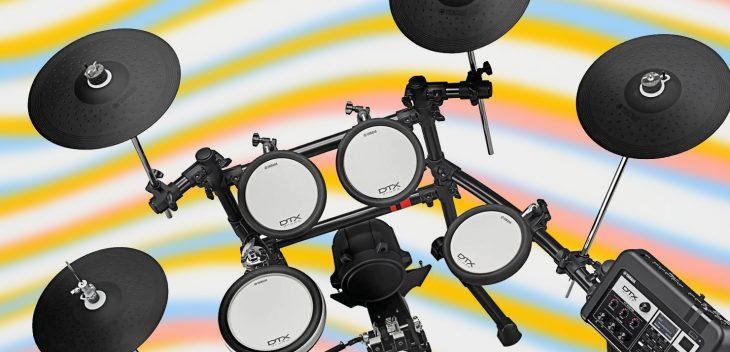 yamaha dtx6 x6 kit e drums test