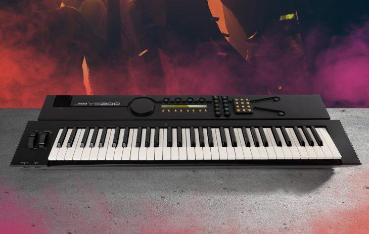 Yamaha YS200, YS100, 4-OP-FM-Synthesizer