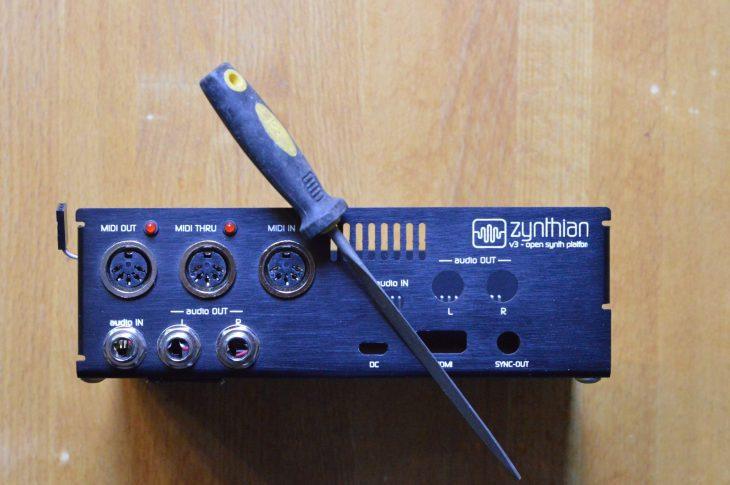 Zynthian Upgrade auf Raspberry Pi 4 - Feile fein