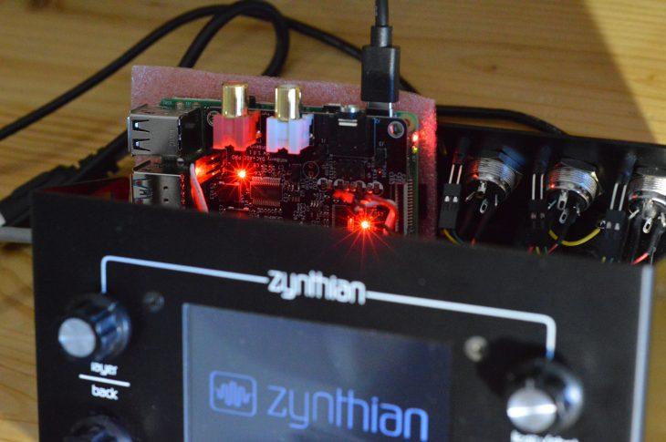 Zynthian Upgrade auf Raspberry Pi 4 - Test sicher OK