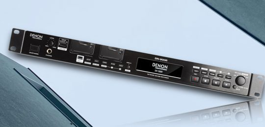 denon dn 900r recorder test