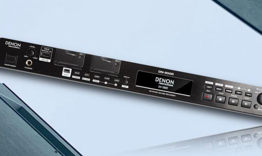Test: Denon DN-900R, SD-/USB-Recorder mit Netzwerkanbindung