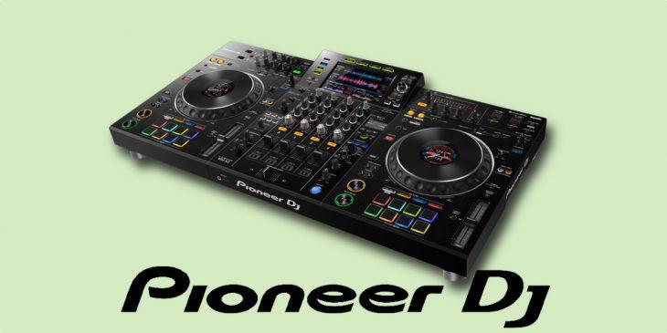 Pioneer DJ Mixer Player DJ-Controller