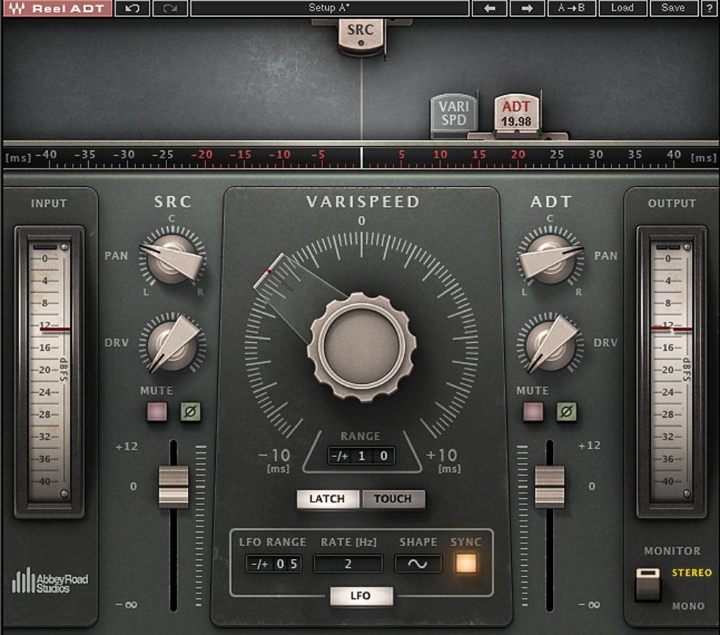 Die Reel ADT Stereo Version