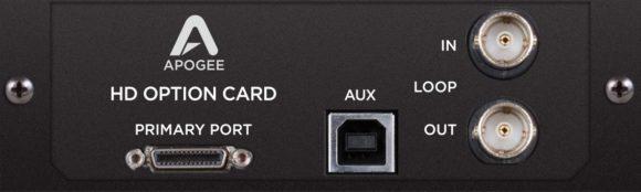 Die optionale Pro Tools HD Karte