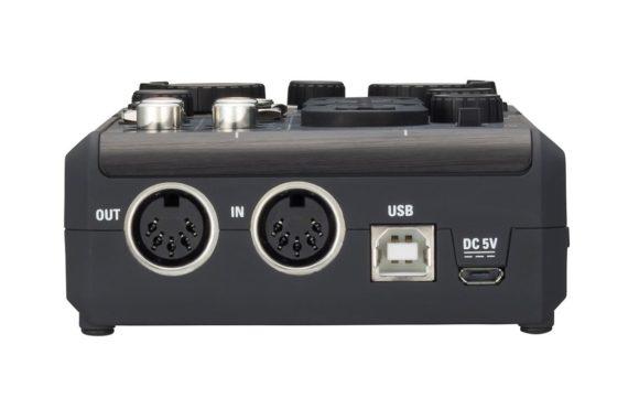 Midi, USB und Netz