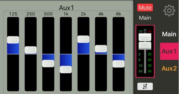 Grafischer EQ, 7-Band