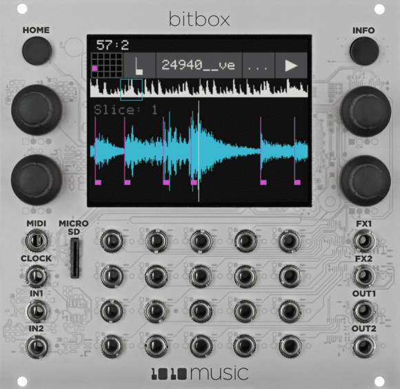 1010music Bitbox sampler