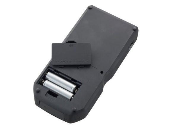 Das Batteriefach an der Unterseite