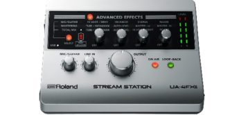 Test: Roland UA-4FX II Stream Station, USB Audiointerface