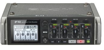 Test: Zoom F4, Multitrack Field Recorder