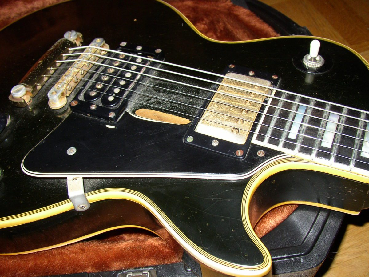 Gibson Les Paul Custom 1969 - Trademark