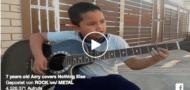 7-Jähriger spielt Metallica