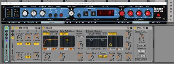PSP42 & Ableton Live Reverb