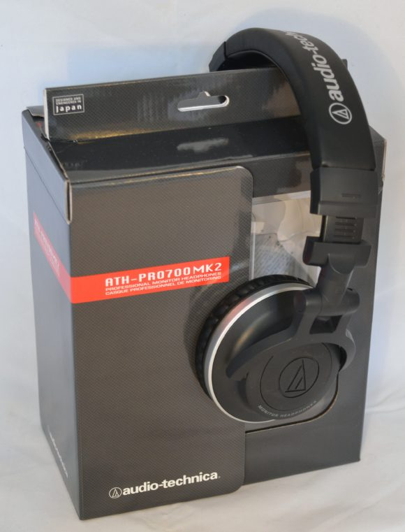 Der Audio Technica ATH-Pro700MK2