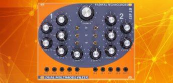 Test: Radikal Technologies RT 451, Eurorack-Filtermodul