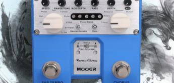 Test: Mooer Reverie Chorus, Gitarrenpedal