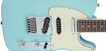 Test: Fender Deluxe Nashville Tele DPB, E-Gitarre