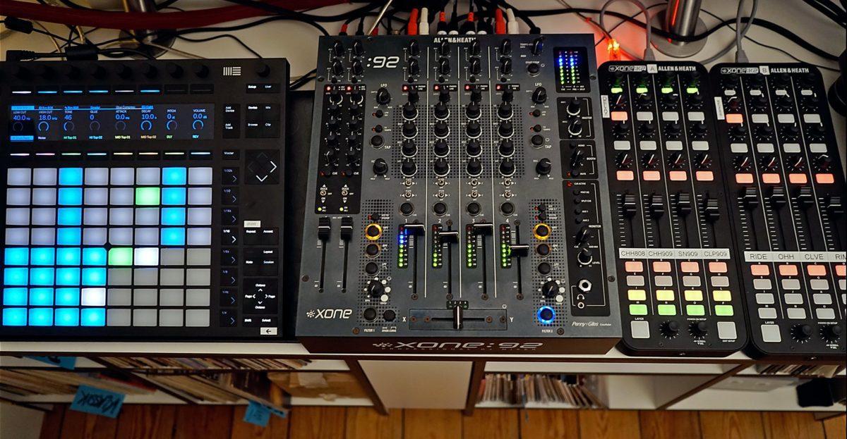 DJ Hybrid Setup