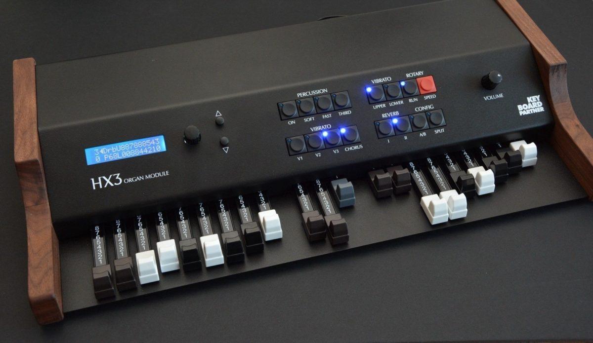 HX3 Organ Module mit Drawbars