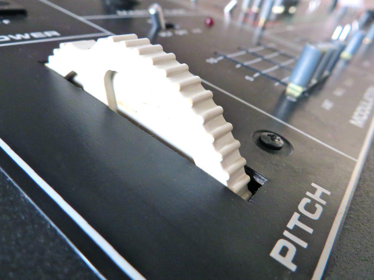 Das wohlbekannte Moog Pitch Wheel
