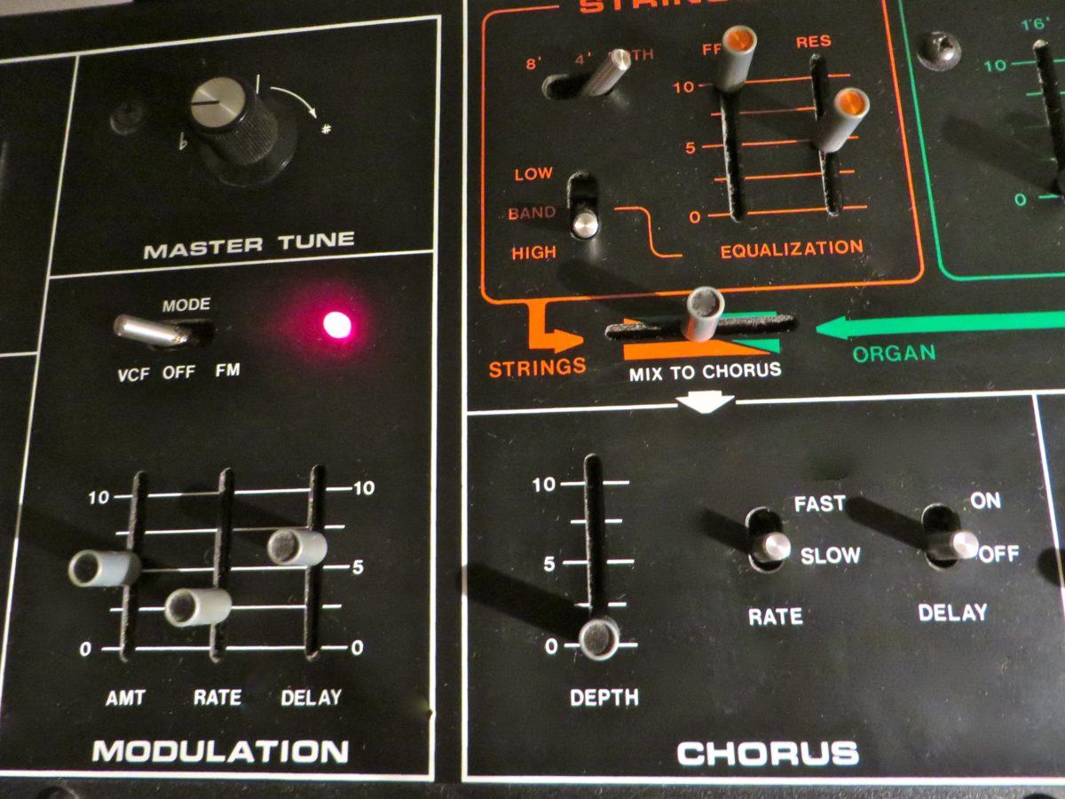 Modulationssektion und Chorus sorgen für sämige Streicherklänge