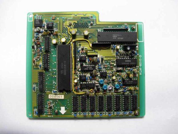 Die Samplingplatine des DDD-1 hat einen eigenen Prozessor