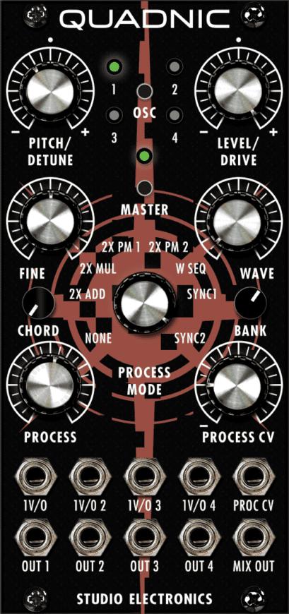 Studio Electronics - Boomstar-Modular QUADNIC