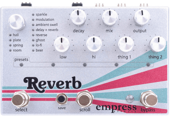 Empress Effects Reverb 1
