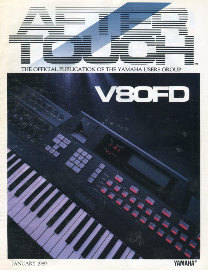 Aftertouch Magazine Yamaha V80FD