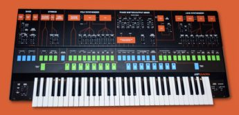 Blue Box: ARP Quadra, Analogsynthesizer