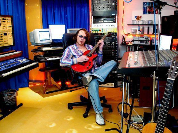 Robert Schroeder heute in seinem eigenen Studio