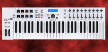 Test: Arturia Keylab Essential 49, 61, Midi-Controllerkeyboard