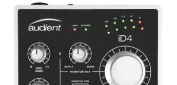 Test: Audient iD4, USB-Audiointerface