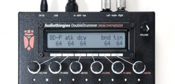 Top News: Audiothingies DoubleDrummer, Drum Synthesizer