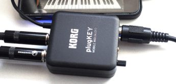 Test: Korg plugKEY, Lightning-Interface