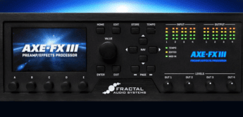 TOP NEWS: Fractal Audio Systems Axe-Fx III, Effektprozessor