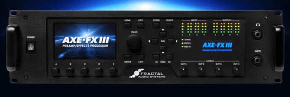 Fractal Audio Systems Axe-Fx III title