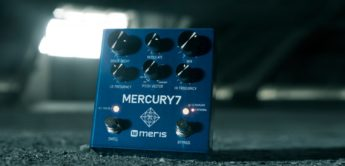 Test: Meris Mercury7 Reverb, Gitarrenpedal