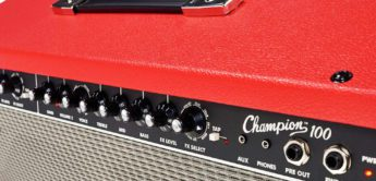 Test: Fender Champion 100 Red, Gitarrenverstärker