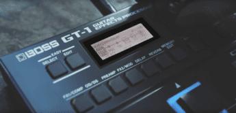 Test: BOSS GT-1, Gitarren Multieffekt Pedal