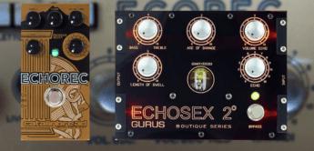 Vergleichstest: Gurus Echosex 2 vs. Catalinbread Echorec